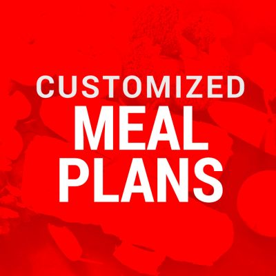 customized meal plan options