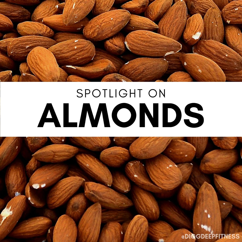 spotlight on almonds